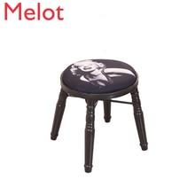 iron art dressing stool…