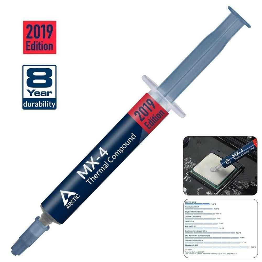 Arctic MX-4 cpu 2019 2g 4g 8g 20g placa gráfica pasta térmica silicone mx 4 tubo mais frio MX-2 mx 2 chip processador composto graxa