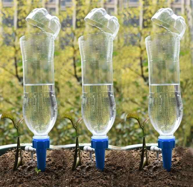 360 biegów Dri System nawadniania kropelkowego Bonsai roślin DIY automatyczne kroplówki wody zraszacze ogrodowe kolce stożkowe rośliny Houseplant