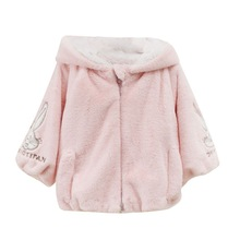 Детское утепленное пальто с мультипликационным принтом для маленьких мальчиков и девочек, Зимняя Повседневная Верхняя одежда с капюшоном, куртка, одежда K