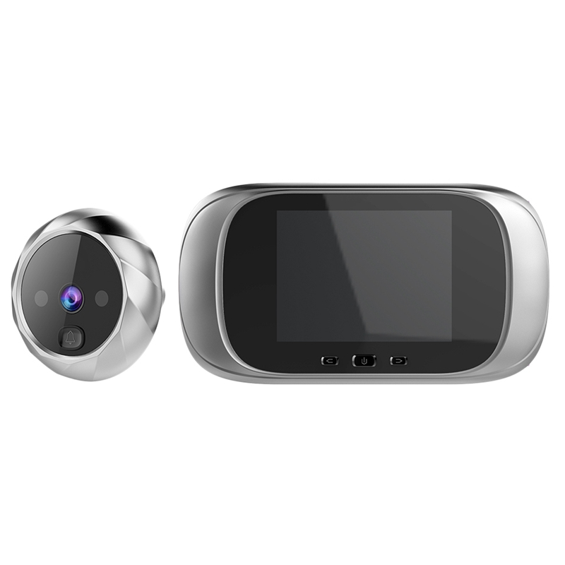2.8 Inch Lcd Color Screen Digital Doorbell Electronic Peephole Night-Vision Motion Sensor Door Camera Viewer