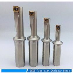 Envío Gratis 2D 3D U taladro Multi-funcional camino rápido taladro de chorro de agua XCMT Cuchilla desechable taladro de agujero superficial TCAP