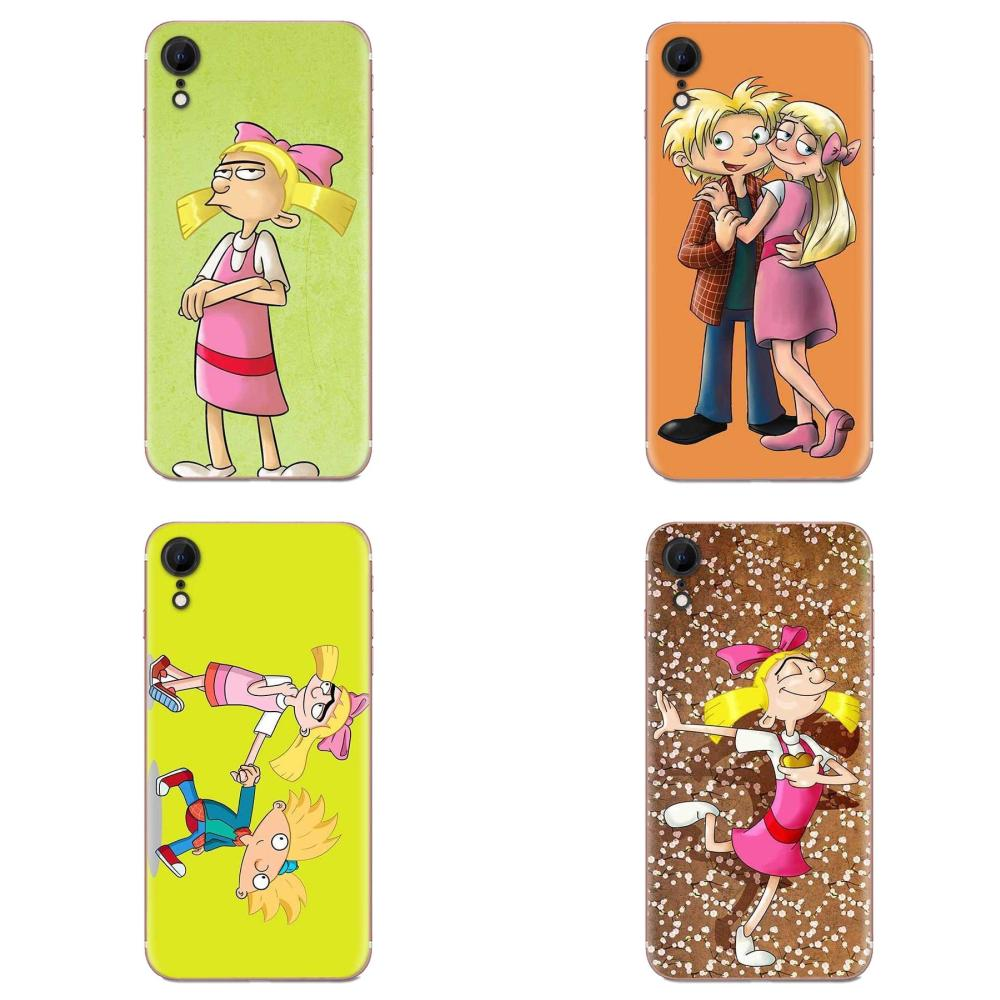 Hey Arnold Fondos Soft Cell Case For Huawei Honor Mate Nova Note 20 20s <font><b>30</b></font> <font><b>5</b></font> 5I 5T 6 7I 7C 8A 8X 9X 10 Pro Lite Play image
