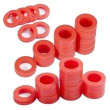 Наружный садовый шланг силиконовая шайба прокладка, 90 шт красные уплотнительные кольца силиконовая шайба прокладка комбо пакет для 3/4 дюймовый для садового шланга и ваты
