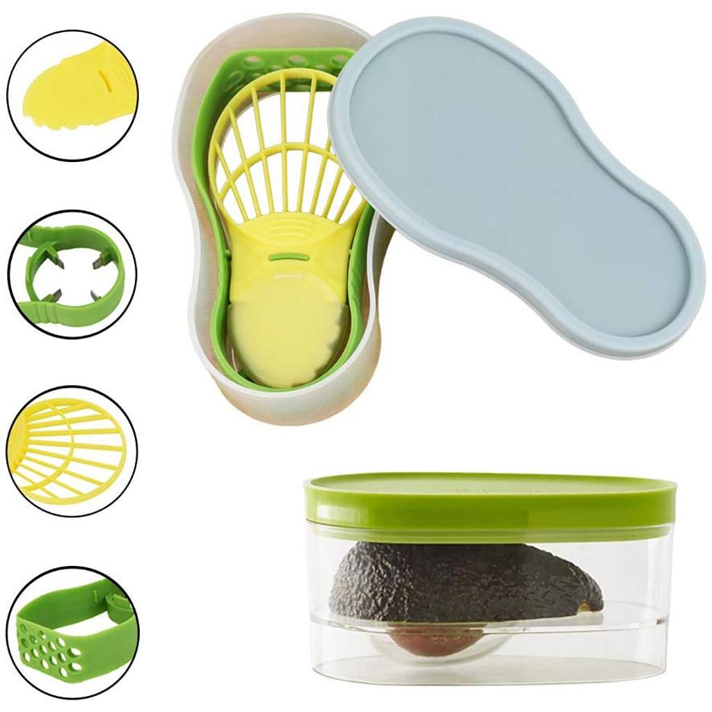 1x -5 в 1 Набор для резки авокадо, средство для удаления сердцевины, набор многофункциональных инструментов для дома, кухни, удобный инструмен...