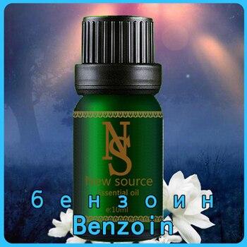 Aceite Esencial Benzoin de 10ml para el cuidado de la piel aceite de agua para plantas aceites esenciales solubles aceite de Benjuí Baño de aromaterapia dedicado