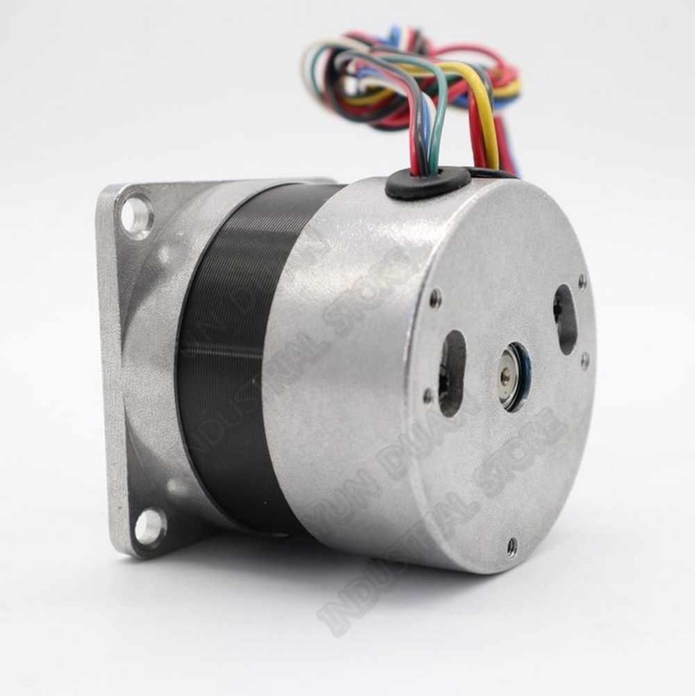 70W BLDC Motor 0.22Nm 31.4Oz-Di DC 24V Brushless Motor Nema23 57 Mm Kecepatan Tinggi 3000 Rpm sensor Hall 3PH 8 Mm Shaft BLDC