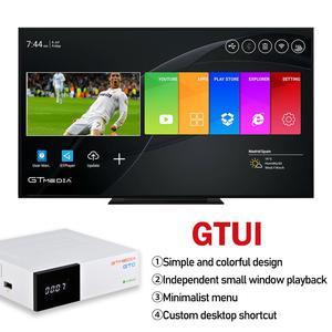 Image 2 - Decodificatore satellitare della scatola TV del ricevitore TV di 2GB 16GB del ricevitore TV di android 6.0 di ISDBT Amlogic S905D di DVB S2 del ricevitore di GTmedia GTC DVB C