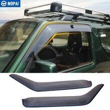 Toldos MOPAI, cubierta de refugio para Suzuki Jimny 2007 2017, protectores climatológicos de resina para coche, visores de ventana de parabrisas, accesorios de coche