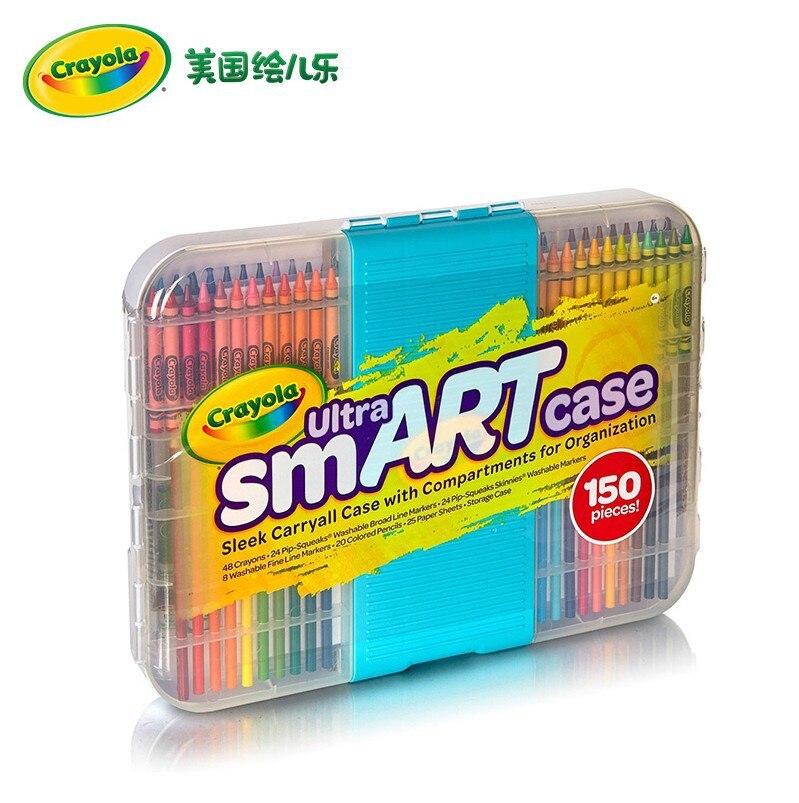 America Crayola Fine Art Gift Box Child Drawing Kit Birthday Gift Toy 04-6810