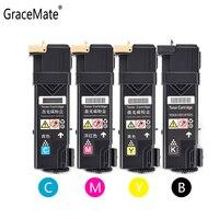 GraceMate Kompatibel für Xerox 6125 6128 6130 6140 Toner Patrone Drucker 106R01456 106R01457 106R01458 106R01459 mit Clip