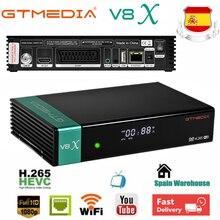 1080P Receptor Gtmedia V8X DVB S2X WIFI ดาวเทียม GT Media V8X อัพเกรดจาก Freesat V9 Super v8 Honor ไม่มี App