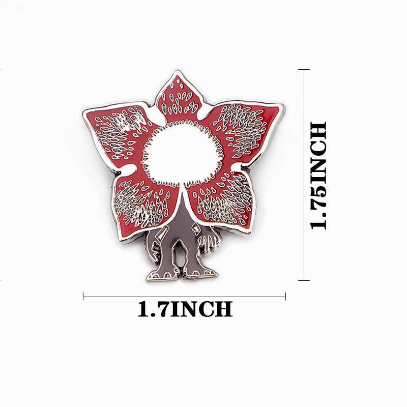 Hal Yang Aneh Lucu Zinc Alloy Pin Gesper Di Kemeja Pakaian Ransel Sepatu Bros Dekorasi DIY Perhiasan Kerajinan Perlengkapan E0743