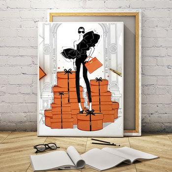 strong Import List strong Moda modne dziewczęce płótno malarstwo ścienne sztuka funkcja plakaty i druki styl skandynawski wystrój domu metalowej ramie tanie i dobre opinie ICANVAS Wydruki na płótnie Pojedyncze PŁÓTNO Wodoodporny tusz abstrakcyjne bez ramki Nowoczesne 20190831-03RM Malowanie natryskowe