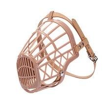 Легкая прочная корзина для намордников для собак, противоукусное покрытие для рта, регулируемые ремни для собак, маска, принадлежности для обучения домашних животных