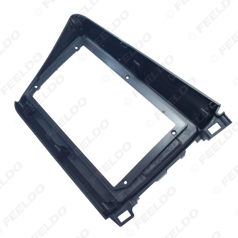 FEELDO автомобильный 2DIN CD/DVD GPS навигация фасции Рамка адаптер для Honda Civic 12-15 9