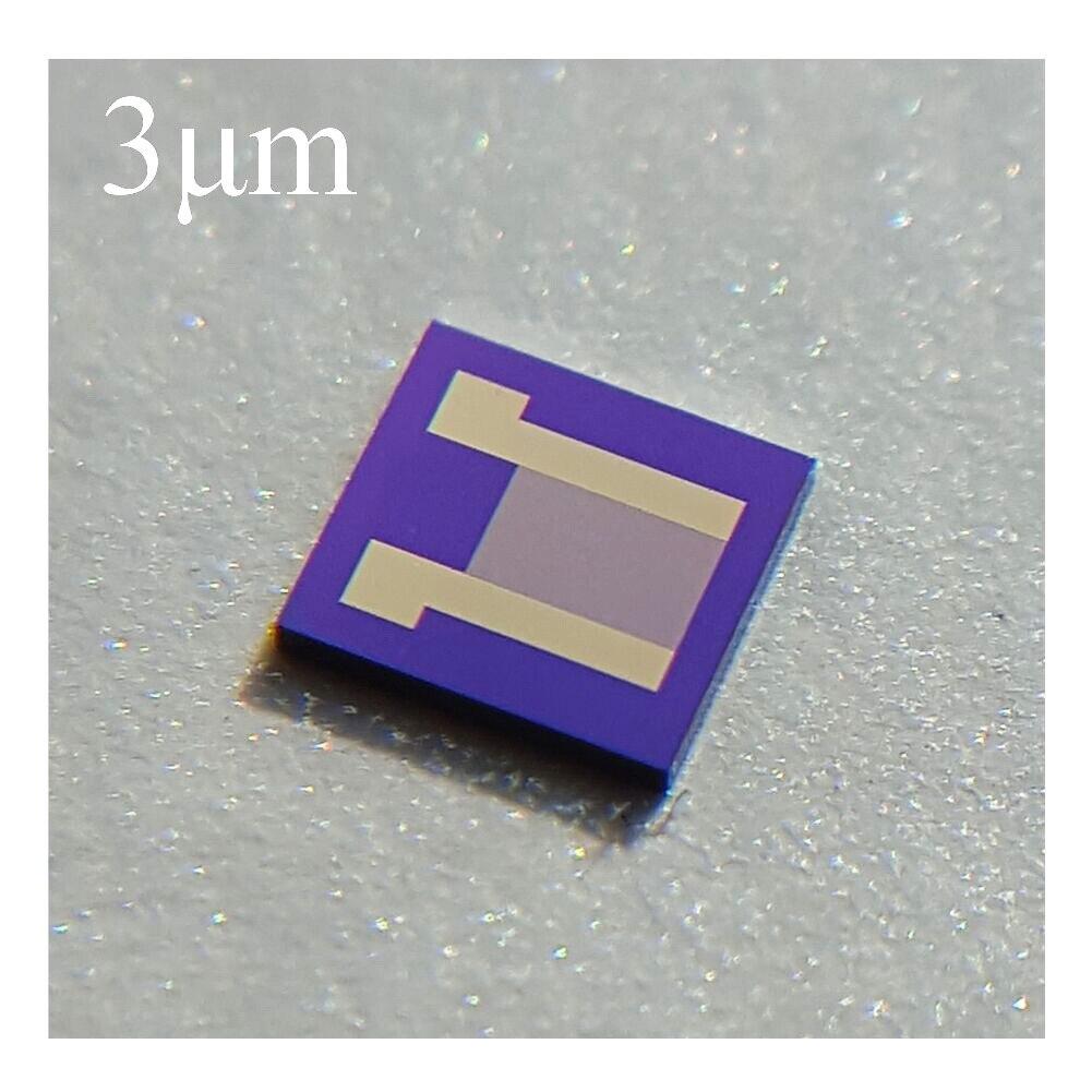 3um Silicon-based Interdigital Electrode Capacitor Array High Precision MEMS Sensor Chip