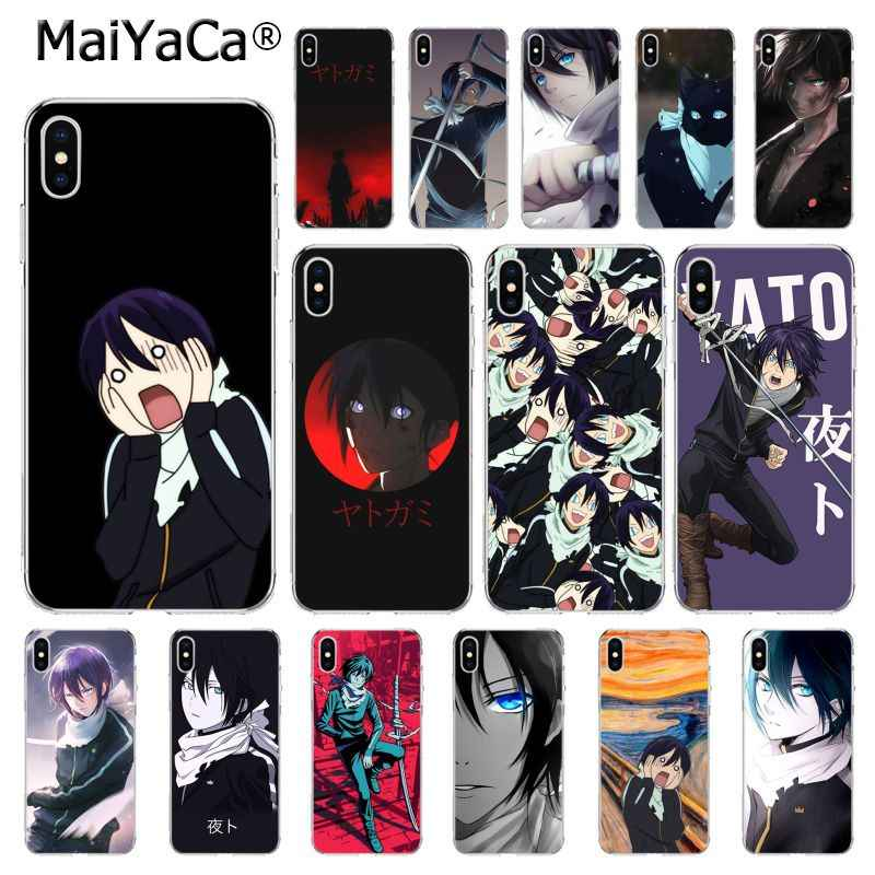 Japanese Yato Noragami Anime Art Phone Cover for iphone 11 12 pro 8 7 6 6S Plus 5 5S SE XR X XS MAX 10 Coque Shell 12mini