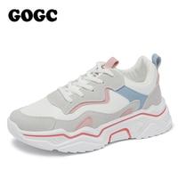 GOGC 2020 femmes chaussures printemps chaussures pour femmes plate-forme dames baskets grosses baskets chaussures décontracté chaussure femmes Snekaers G6802