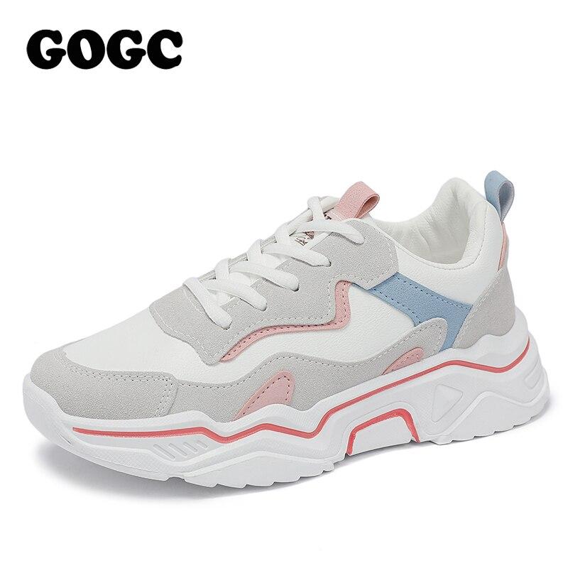 GOGC 2020 Women Shoes Spring Women's Shoes Platform Ladies Sneakers chunky sneakers Shoes casual women shoe Women Snekaers G6802