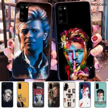 David Bowie Phone Case For samsung galaxy S10 S10E Lite s8plus s9plus s7 s6 plus S5 S20 plus image