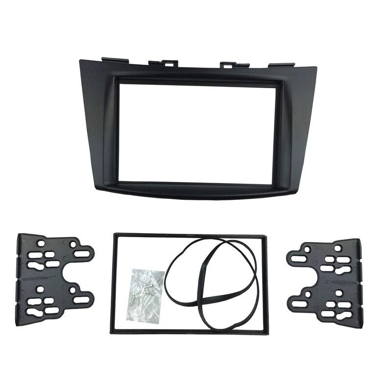 Pro Suzuki Ertiga 2012+ Double Din Radio DVD Stereo panel Dash Mount Montáž Montážní lemovací rámeček Surround Rámeček
