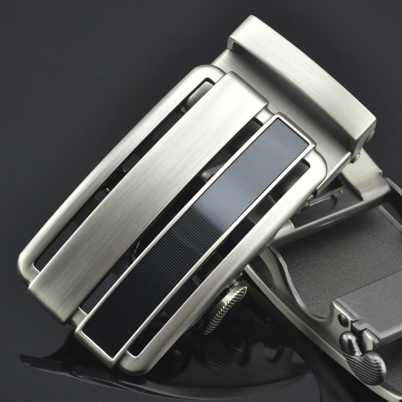 New Men's Belt Head, Belt Buckle, Leisure Belt Head Business Accessories Automatic Buckle Width 3.5CM Luxury Fashion LY125-0793