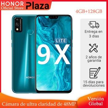 Купить Новое поступление глобальная версия Honor 9X Lite смартфон 4G 128G 48MP камера Kirin 710 6,5 ''мобильный телефон Android P GPU Turbo 3,0 NFC