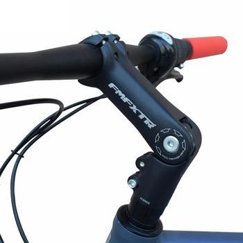 Aluminum Alloy Front Fork Stem Adapter Adjustable Angle Bicycle Handlebar Stem Riser MTB Handlebar Heightening Accessories aluminum super light mtb mountain bike riser flat handlebar bicycle handlebar stem seatpost
