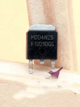 1pcs ME04N25-G 4N25 SMD MOS transistor LCD TO-252 original authentic In Stock image