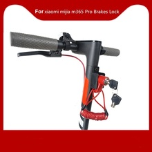 Anti-Theft Disc Brakes Lock with Steel Wire for Xiaomi Mijia M365 Electric Scooter M365PRO Skateboard Wheels Lock Disc Brake anti theft disc brakes lock with steel wire for xiaomi mijia m365 electric scooter skateboard wheels lock disc brake