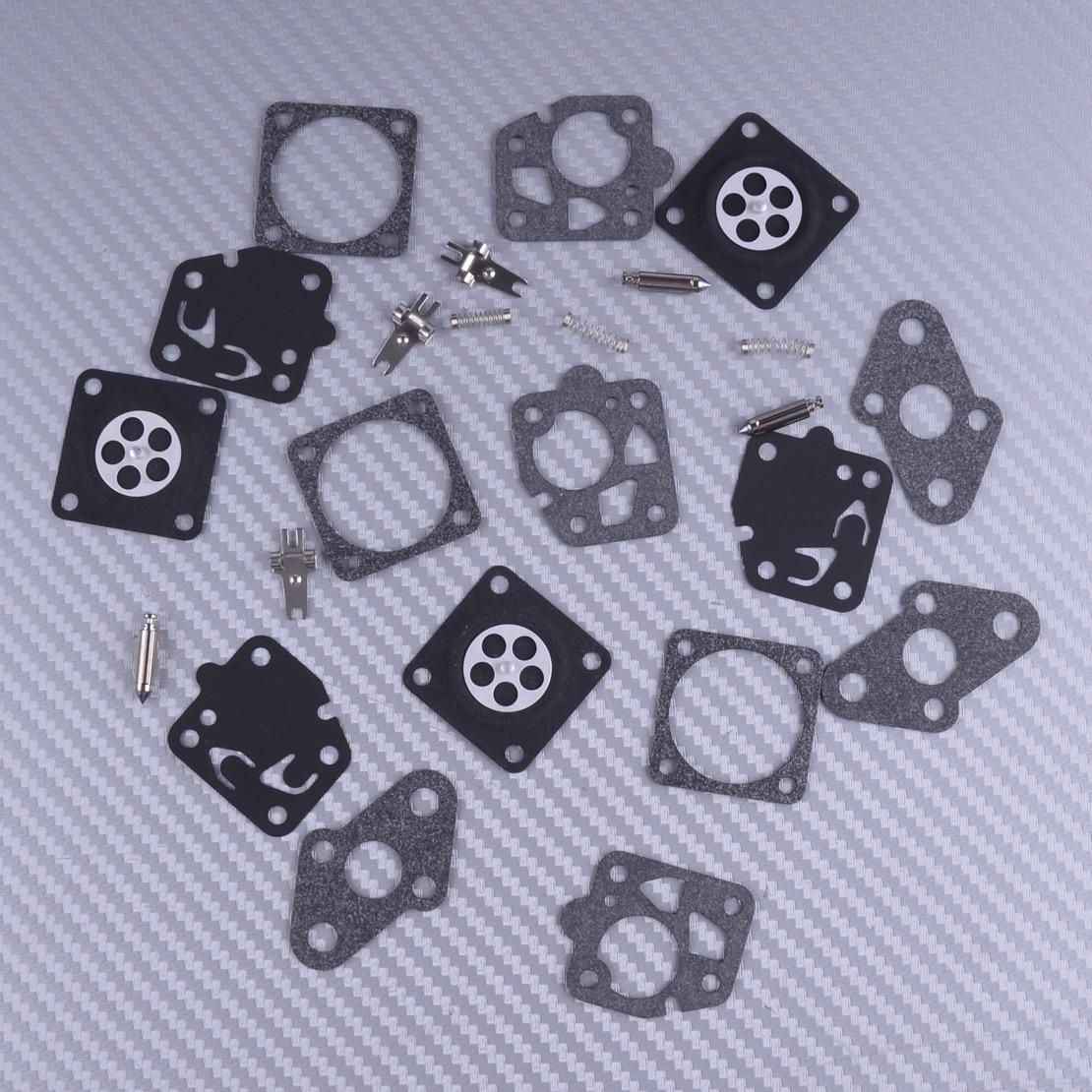 LETAOSK 3 Kit Of Carburetor Repair Parts Fit For Kawasaki TG20 TG24 TG25 TG33 TD24 TD25 TD33 TD40 TD48 Engine Part
