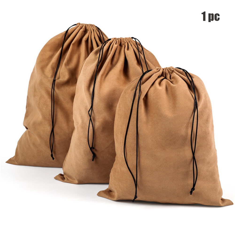 Christmas Gift Pocket Clothes Storage Dust Proof Reusable Portable Home Jewelry Shopping Tote Drawstring Bag Package Pouch