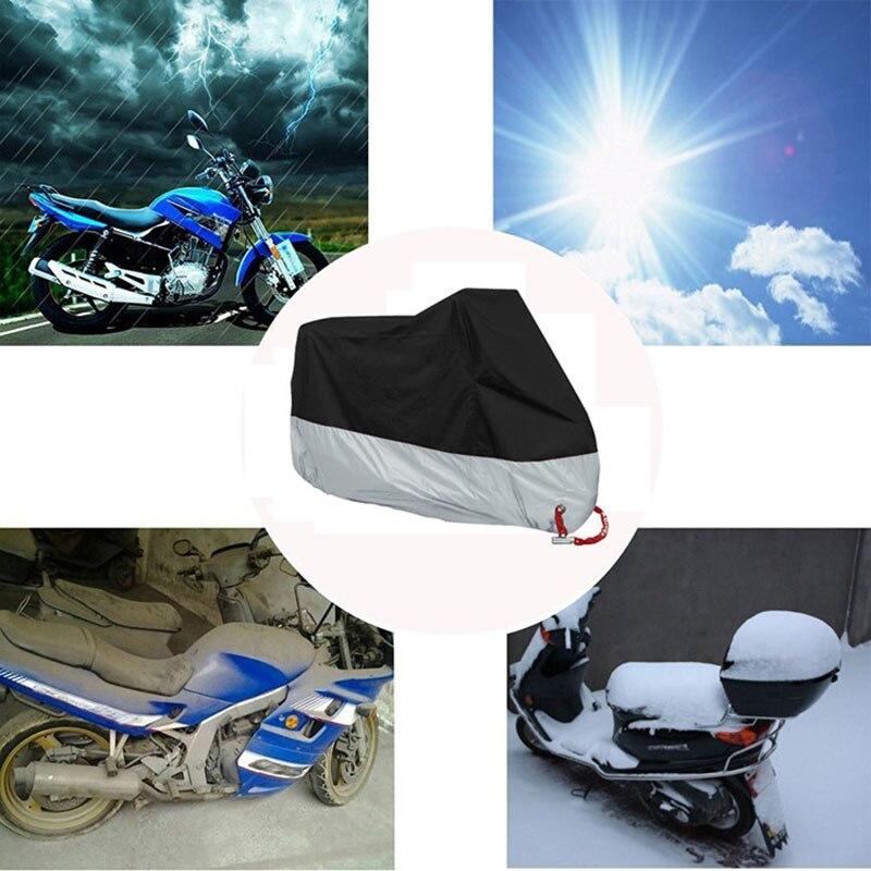 Pokrowiec na motocykl moto rbike funda moto bicicleta moto rhoes housse velo pokrowiec na moto cykl na zewnątrz wodoodporny pyłoszczelny xxl 4xl