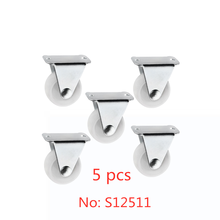 5 шт/лот 125 дюймовый направленный ролик диаметр 30 белый ПП