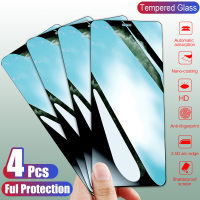 4Pcs 9H Tempered Glass For iPhone 11 Pro X XR XS MAX 7 6 8 Screen Protector Protective Glass For iPhone 7 6 8 Plus XR Glass Film