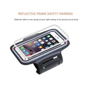 Универсальный Водонепроницаемый нарукавник для занятий спортом в тренажерном зале для iPhone 11 Pro Max Xs XR X 8 6 7 samsung S9 S10 нарукавная Повязка Чехол ...