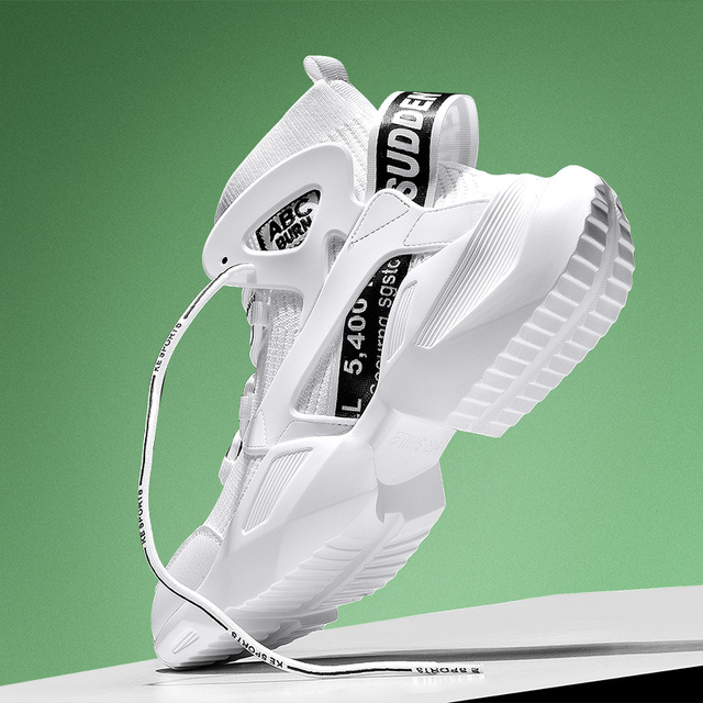 Chunky High-top Sneakers 4