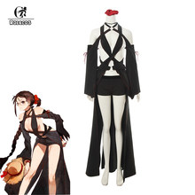 ROLECOS jeu destin Yu Miaoyi Cosplay Costume Akuta Hinako Sexy robe femmes destin Grand ordre Yu Meiren Cosplay Halloween Costume(China)