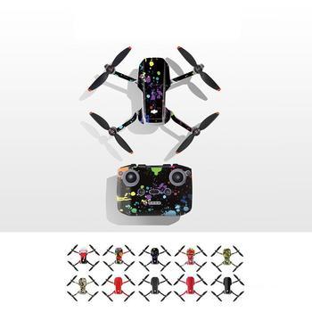 Dla DJI Mavic Mini 2 naklejki pcv odporne na zadrapania naklejki pokrywa dla DJI Mini 2 Drone Body Arm pilot akcesoria ochronne tanie i dobre opinie Mounchain CN (pochodzenie) PVC stickers 17 8*13 1*1 0cm