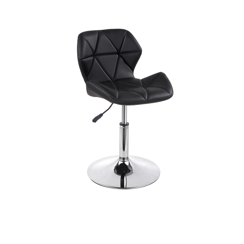 Nordic Backrest Chair Lift Bar Chair Modern Minimalist Commercial Furniture Artificial Leather Cadeira Taburete