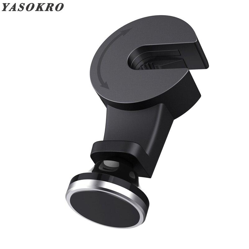 Multifunction hidden Magnetic Mobile Phone Holder Stands Universal Car Headrest Mount Car Seat Back Hook For Phone Coat Hanger