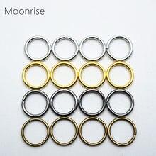 Anneaux de saut ouverts pour connecteurs de bijoux, 100 – 200 pièces de 4mm 5mm 6mm 7mm 8mm 10mm 12mm