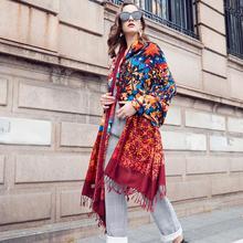 Lã feminino cachecóis stoles carf elegante quente xale bandana cachecol marca de luxo muçulmano hijab praia cobertor rosto escudo foulard