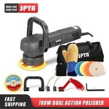 SPTA 5นิ้วDual Action Polisher 8มม.สุ่มOrbit Professionalเครื่องขัด780Wไฟฟ้าBuffing Polisherความงามรถเครื่องมือ