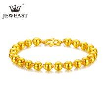 Xxx 24 k puro ouro pulseira real 999 sólido ouro bangle elegante moda bonita na moda clássico festa jóias finas venda quente novo