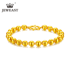 Image 1 - Xxx 24K Puur Goud Armband Real 999 Solid Gold Bangle Elegante Mode Mooie Trendy Classic Party Fine Jewelry Hot verkoop Nieuwe