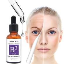 Niacinamida 5% rosto soro facial 30ml vitamina b3 soro refirming reparação pele anti rugas anti acne anti envelhecimento soro cuidados tslm1