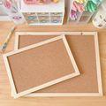 Kork Holz Wand Hängen Nachricht Bulletin Board Rahmen Hinweis Hinweis Memo Board für Home Office Shop Schule Foto Hintergrund
