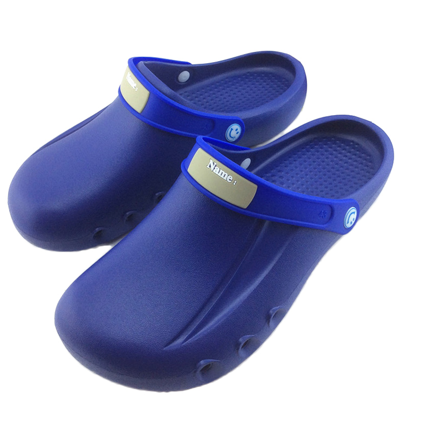 Medical Slippers Hospital Operating Doctor Nurse Shoes Solid EVA Clog Sandals Dentist Scrub Uniform For Men Women Work Wear